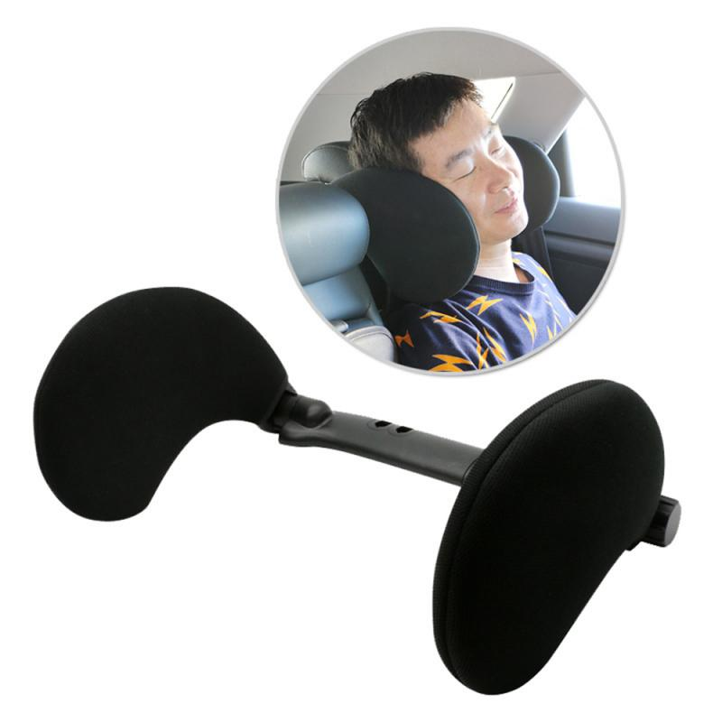 Sleep Side Nylon Retractable Side Headrest Neck Pillow With High Elastic For Children And Adults