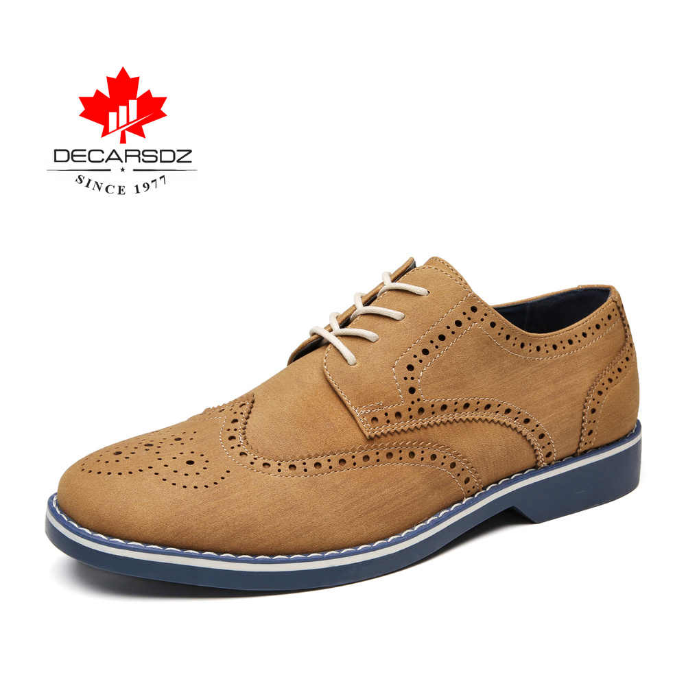 Sapatos masculinos 2019 outono moda masculina couro casual ao ar livre sapatos de lazer clássico calçados casuais masculinos preto