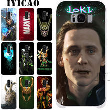 Marvel Hero Loki Hard Case voor Samsung Galaxy S10e S10 S9 S8 Plus S6 S7 Rand Cover voor Samsung Note 9 8(China)