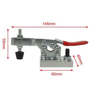 Image 5 - 4 ピース/ロット彫刻機クランプ、加圧装置、プライヤー、木工ホルダー、アルミクランプcncフライス機