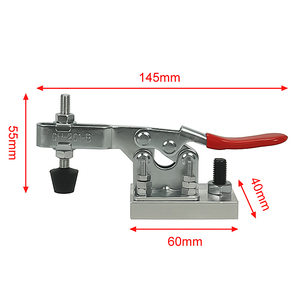 Image 5 - 4pcs/lot Engraving machine clamp, pressure device,pliers, woodworking holder, aluminum clamp plate for cnc milling machine
