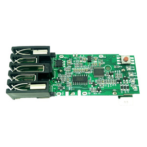 Image 5 - For Milwaukee 18V M18B Li ion Battery Plastic Case Charging Protection Circuit Board M18 48 11 1815 3Ah 4Ah 5Ah PCB Board Shell
