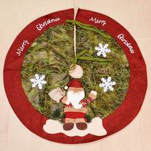 Юбка в виде Санта-Клауса, снеговика, рождественской елки, украшения для елки, рождественские украшения для елки, праздничные товары, рождест...
