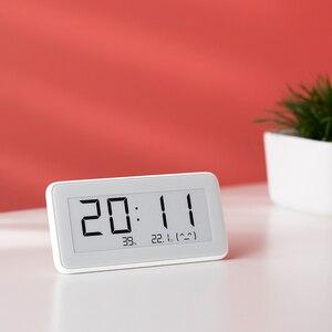Image 4 - Xiaomi reloj eléctrico inteligente inalámbrico Mijia BT4.0, Digital, termómetro de interior e higrómetro de exterior, herramientas de medición de temperatura LCD