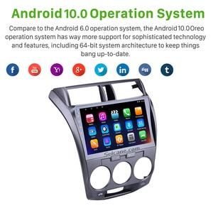 Image 3 - Seicane 10.1 אינץ 2Din אנדרואיד 10.0 Quad Core רכב רדיו GPS מולטימדיה נגן עבור 2011 2012 2013 2014 2015 2016 הונדה עיר