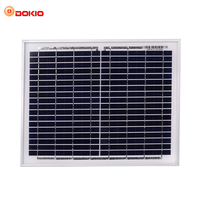 Anaka 18V 10W/20W/30W/40W/50W solar panel kit solar cell solar photovoltaic solar panels for home Charge 12V Solar panel China image