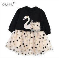 Baby Girls Clothes Set Casual Long Sleeve Sequins Tops + Lace Tutu Skirt Baby Autumn Outfit Birthday Party Custumes Kids Clothes