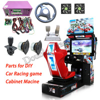 Arcade Kit Outrun Car Racing Driving Game Motherboard Car Racing Simulator Outrun Game Console Kits for Game Machine