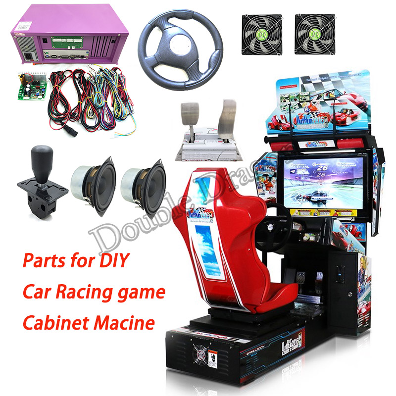 Arcade Kit Outrun Car Racing Driving Game Motherboard Car Racing Simulator Outrun Game Console Kits for Game Machine image