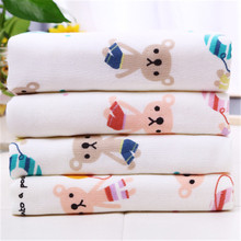 2019 New family essential cotton gauze bath towel children wash wipes sweat