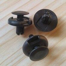 Clipes rebites amortecedores 7mm, clipes rebites de nylon preto, fixador para suzuki grand vitara sx4 swift X-90, 20 peças XL-7 09409-07332