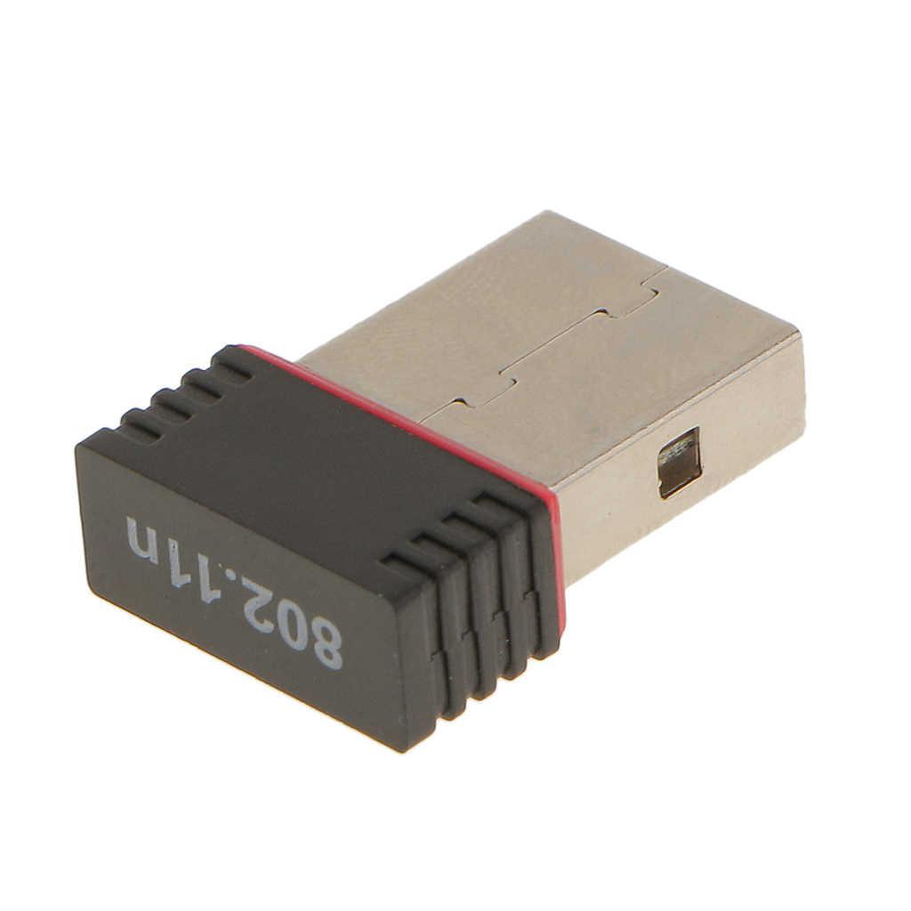 미니 USB 2.0 WiFi 무선 어댑터 동글 150Mbps 장거리 Macbook 지원 IEEE802.11n 표준 빠른 전송