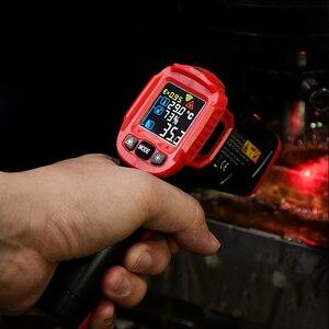 Image 2 - Habotest HT650C Temperatuur vochtigheidsmeter Hygrometer Digitale Termometer Infrarood Laser Thermometer Weerstation