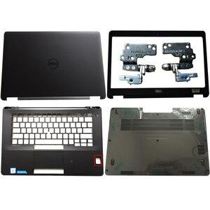 Новый чехол для ноутбука DELL Latitude E7470 с ЖК-задней крышкой/Передняя панель/петли/Подставка для рук/нижний чехол без сенсора 0FVX0Y FVX0Y