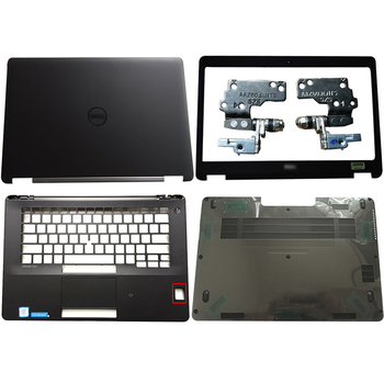 New For DELL Latitude E7470 Laptop LCD Back Cover/Front Bezel/Hinges/Palmrest/Bottom Case NO-Touch 0FVX0Y FVX0Y new for msi ge73 ge73vr 7rf 006cn laptop lcd back cover front bezel hinges hinges cover palmrest bottom case 3077c1a213hg017