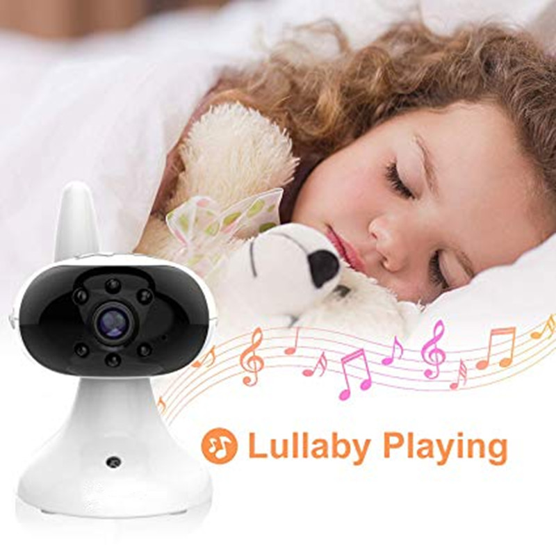 "Image 5 - 3.5"" LCD Screen Digital Video video baby monitor 2 Way Talk Security Wireless Baby Camera  Night Vision Electronic Babysitter-in Baby Monitors from Security & Protection"