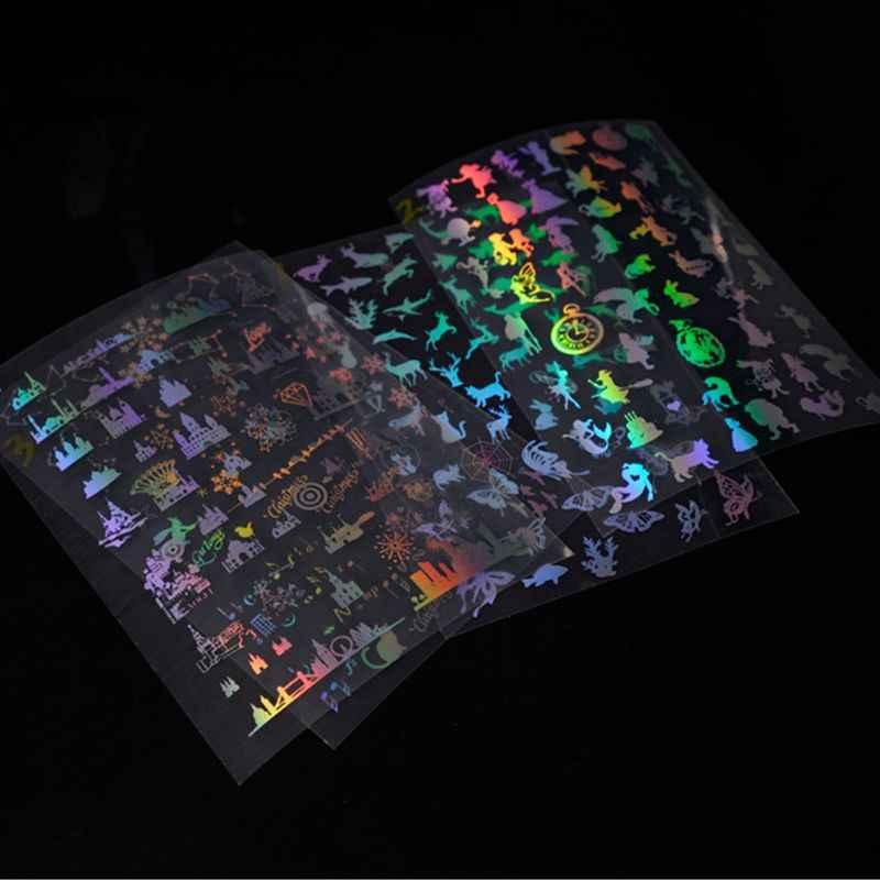 Resina artesanal cristal epoxi molde relleno DIY hecho a mano transparente pegatina joyería hacer Material de relleno