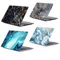 Marmor laptop fällen für apple macbook neue pro 13 2019 A2159 Retina Air 13 3 11 12 15 4 zoll hard cover für touch ID Air 13 A1932-in Laptop-Taschen & Koffer aus Computer und Büro bei