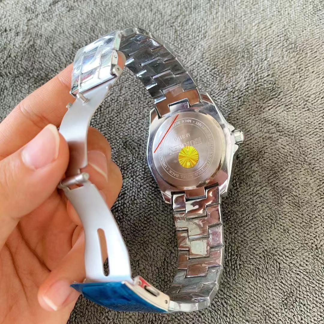 negócios moda à prova dwaterproof água aço