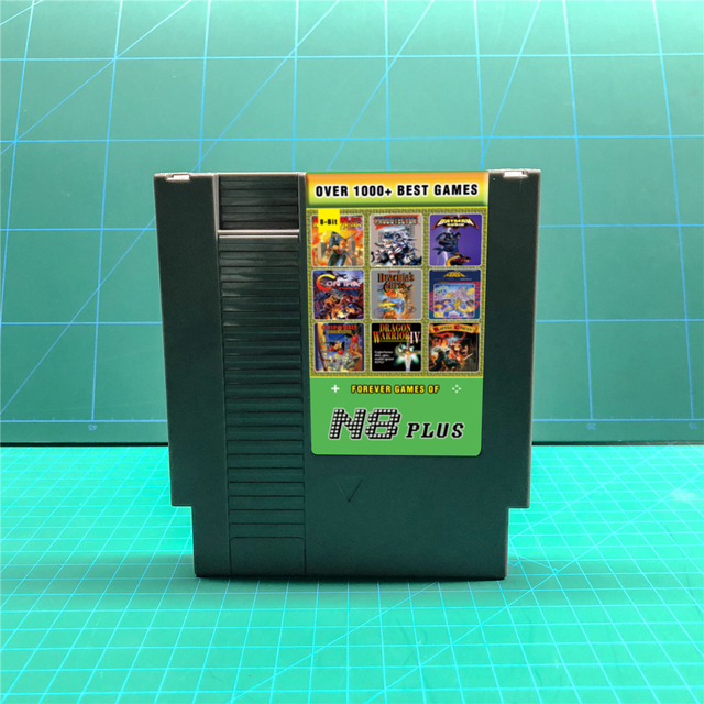 KY Technology N8 Plus 1000 in 1 Ultimate N8 Remix Game card OS 23 for NES 72 pins 8 Bit video Game Console Game Cartridge
