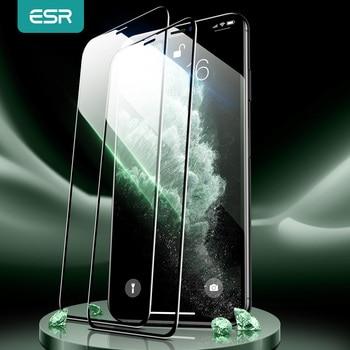 ESR for iPhone 12 Pro Max Screen Protector Tempered Glass for iPhone 13 Pro Max 11 Pro X XR XS Max 8 7 3D Full Cover Screen Film 1
