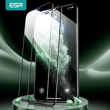 ESR for iPhone 12 Pro Screen Protector Tempered Glass for iPhone 12 mini 12pro Max 11 Pro X XR XS Max 3D Full Cover Screen Film