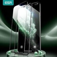 ESR dla iPhone 12 Pro ochraniacz ekranu szkło hartowane dla iPhone 12 mini 12 Pro Max 11 Pro X XR XS Max 3D pełna osłona ekranu