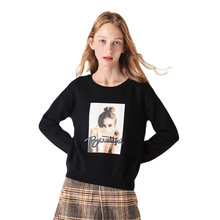 SEMIR 2020 кашемировый вязаный свитер, Женский пуловер с высоким воротником, осенне зимний базовый женский свитер, тонкие Топы в Корейском стиле