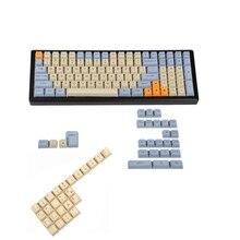YMDK clé en PBT gravé au Laser, pour clavier mécanique MX, UK, italien, espagnol, allemand, ISO, profil, pour clavier mécanique YMD96, KBD75 104, 87 61