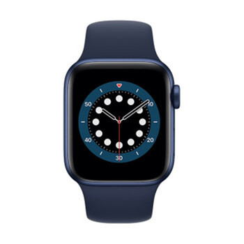 Apple Watch Series 6 GPS + Cellular 40MM/44MM Aluminum Case with 5 Colors Sport Band Remote Smartwatch LTE Electronics Smart Watches
