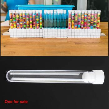 12ml Disposable Hard Test Tube Ps Plastic Hard Test Container Tube Test Tool Tube Transparent Test Decora School Laboratory W5Y7 image