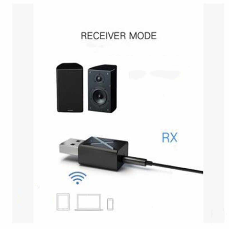 1 Set Bluetooth 5.0 Audio Receiver Transmitter Mini Stereo Bluetooth AUX RCA USB 3.5mm Jack For TV PC Car Kit Wireless Adapter
