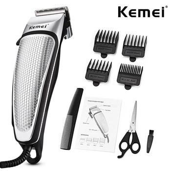 Kemei Electric Clipper Mens Hair Clippers Professional Trimmer Household Low Noise Beard Machine Personal Care Haircut Tools 45D 1