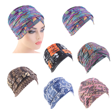 Chemo Headwear Headwrap Scarf Cancer Caps Gifts For Hair Loss Women,Ethnic Style