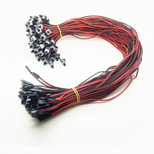 ATX10pcs/lot 55cm Computer Power SW Button Switch Cable for PC Switches Reset Momentary Automatically Reset Push Button