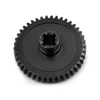 De acero Diferencia de Metal engranajes principales diferenciales 42T para 1/18 WLtoys A959-B A969-B A979-B K929-B RC Actualización de coche partes