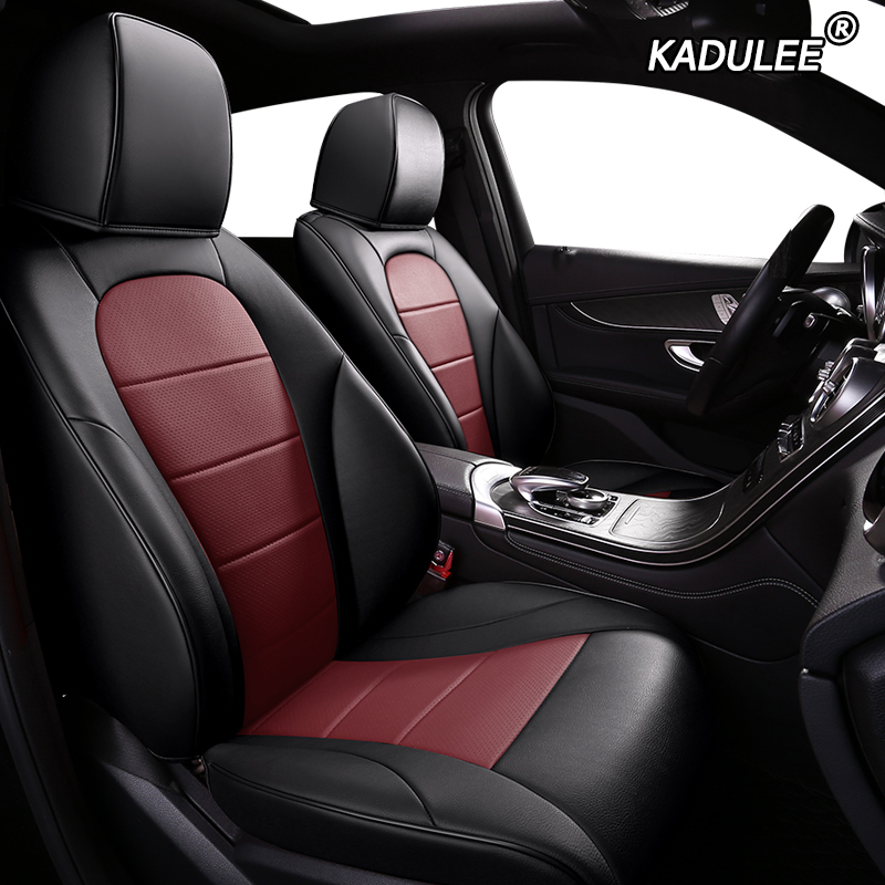 KADULEE custom leather car seat cover for Citroen C4 PICASSO C4 Aircross C4 PICASSO C5 C3 C2 auto seats cover cars styling