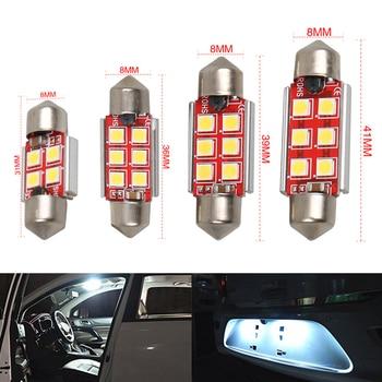 1pc c5w led c10w canbus adorno 31mm 36mm 39mm 41mm led luz del coche del bulbo 3030smd 24v camión 12v auto interior doom lámpara coche estilo