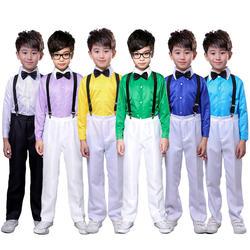 Студенческая японская школьная форма для мальчиков, корейская мода, хор, сценическая одежда, костюмы для колледжа для детей 110-160 см