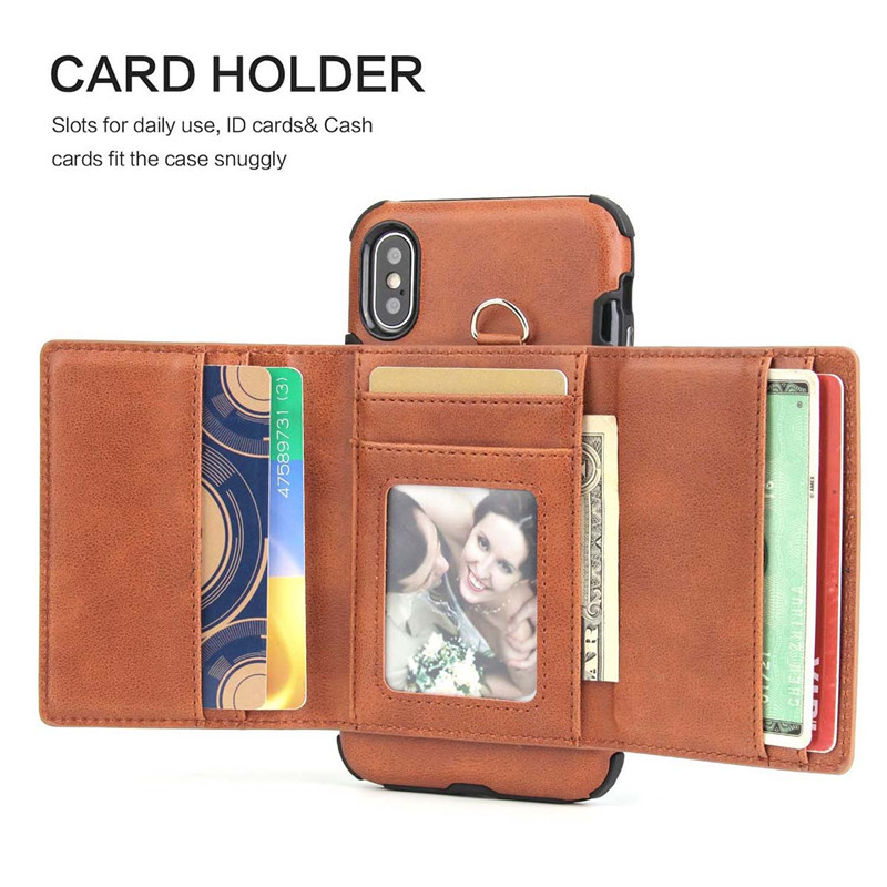 H0972bb02f78c4b03a0de73feee4a0f00a Tikitaka Wallet Leather Phone Case For iPhone 6 6s Plus X XS XR Multifunction Card Slots Flip Cover For iPhone XS MAX 8 8 Plus