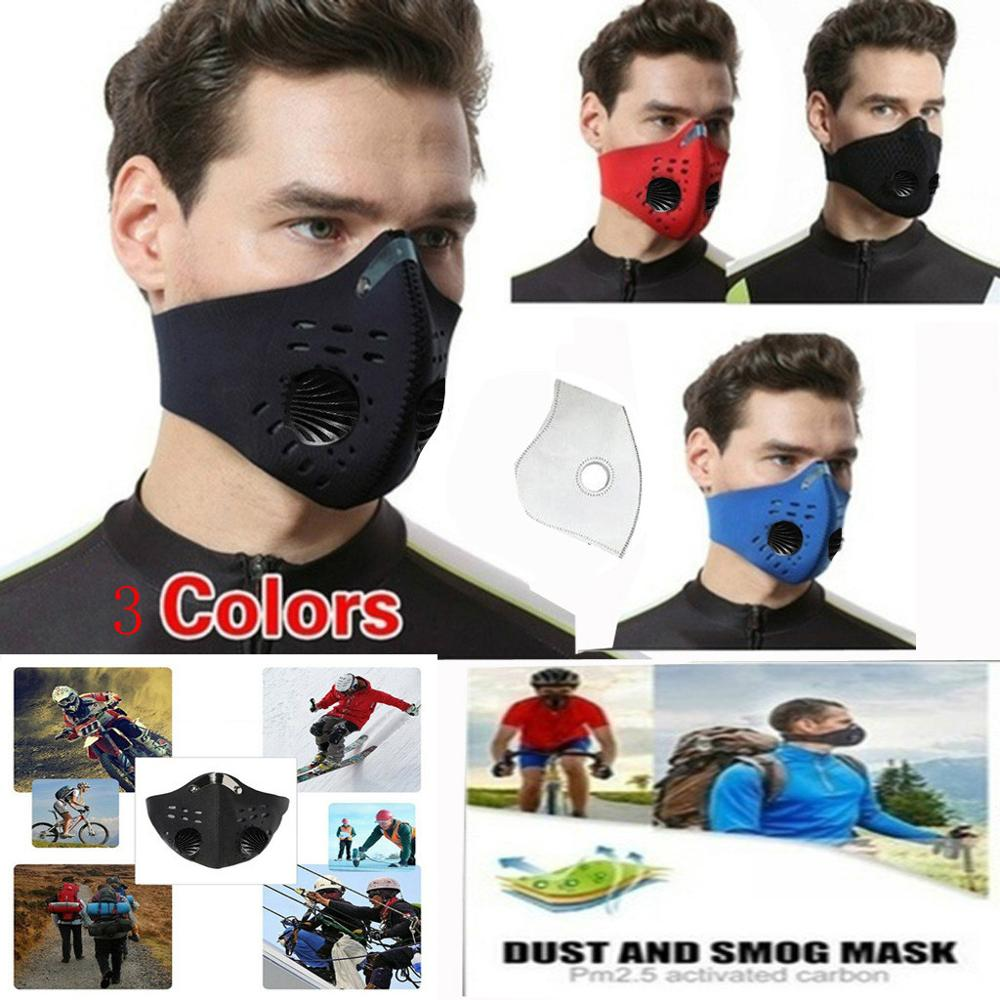 Masks Mascarilla Coronavirus Breathing Valve 1PCS 1 Filters Reusable Respirator Mask Tapabocas Masque Mascherina Quick Delivery