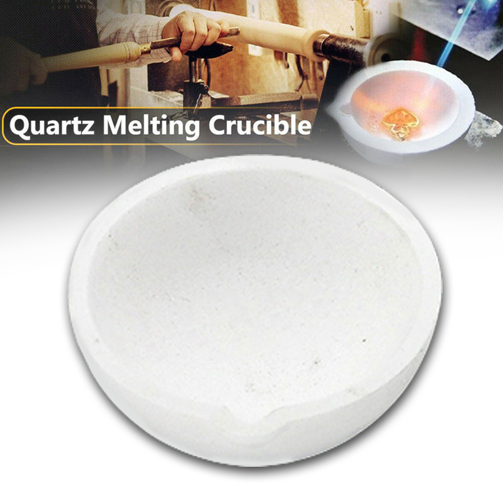 Smelting Pot Melting Casting Jewelry Tools Furnace For Gold Silver Crucible Bowl High Strength Small Multifunction Quartz Silica