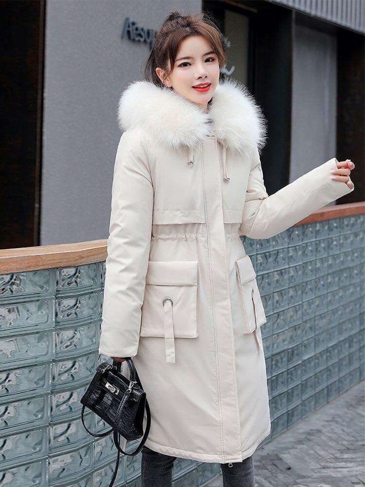 Женские зимние пальто 2020, элегантные женские парки, черное пузырьковое пальто большого размера для женщин, теплая пуховая куртка, женские пальто и куртки|Парки| | АлиЭкспресс