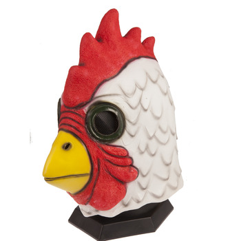 Halloween Latex Mask Adult Richard Rooster Mask Hotline Miami Game Props Cosplay Animal mask hot selling pretty vivid rubber halloween cosplay animal latex full head frog mask
