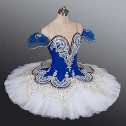 Ballet professionnel Tutu cygne lac crêpe Tutu filles enfant Costume ballerine scène Performance Ballet vêtements pour les enfants