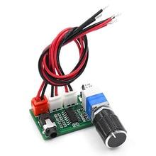 XH A157 placa de amplificador digital pam8403 com botão volume entrada aux dc5v fonte alimentação dupla 3 w saída