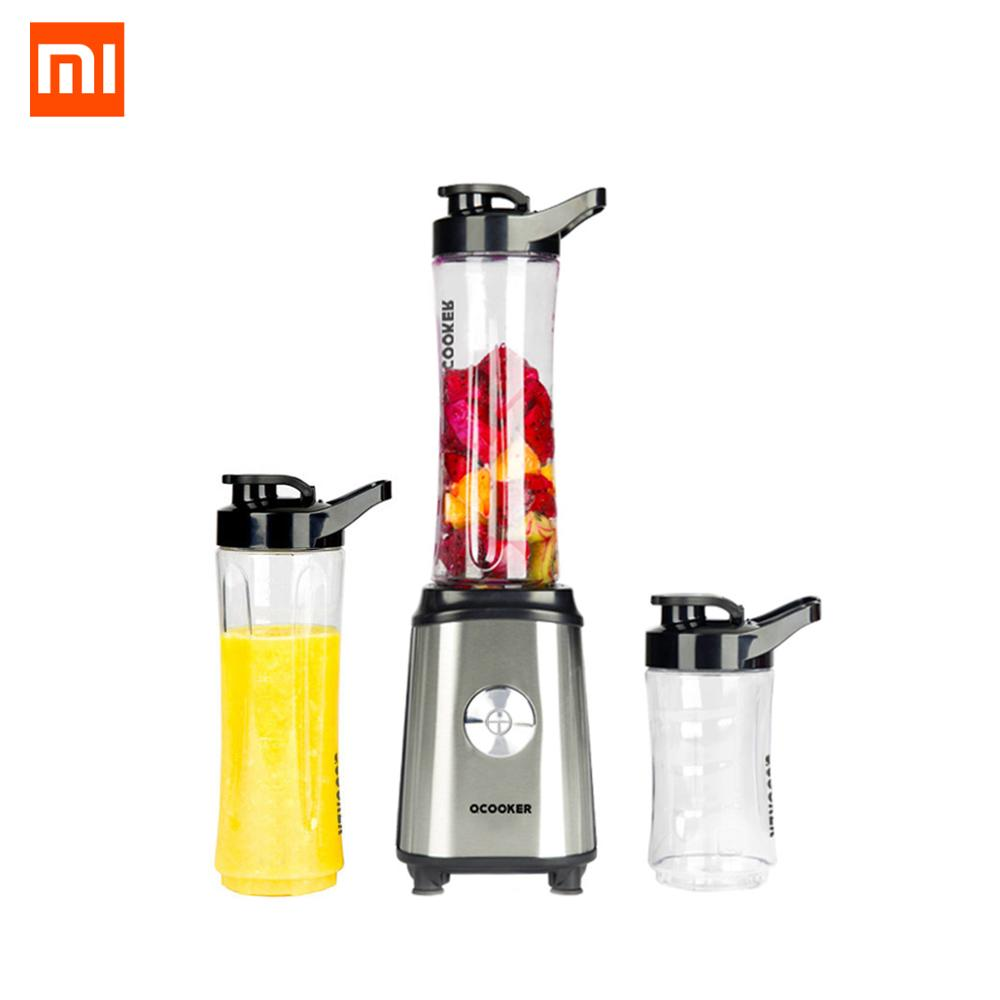 XIAOMI MIJIA QCOOKER CD BL01 Fruit Vegetables blenders Cup Cooking Machine Portable food processor Electric Juicer mixer Kitchen|Juicers|   - AliExpress