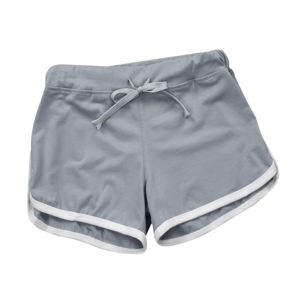 Pants Summer  Women Sport Shorts Gym Workout Waistband Skinny Yoga Elastic Shorts шорты женские
