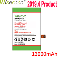 WISECOCO 13000mAh Armor 3 Battery For Ulefone Armor 3 Mobile Phone In Stock Latest Production High Quality Battery+Tracking Code
