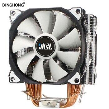 BINGHONG CPU Cooler 6 Heat pipe 120mm 4 Pin PWM for Intel LGA 1150 1155 1366 775 AMD AM4 AM3 AM2 2011 CPU Cooling Fan PC Quiet lga 2011 cpu cooler high quality 6 heat pipes dual tower cooling heat sink 4pin pwm cpu fans for 1150 1155 1156 775 am3 am4 1366